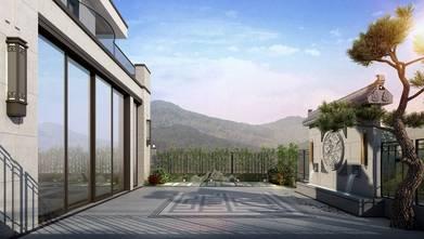 豪华型140平米别墅混搭风格阳台装修效果图