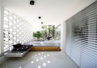 富裕型70平米公寓北欧风格阳台欣赏图