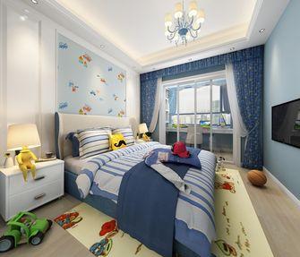 富裕型100平米三室两厅中式风格青少年房装修效果图