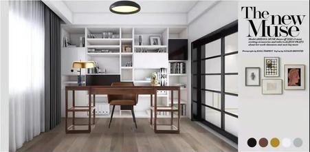 20万以上130平米四室两厅美式风格书房效果图
