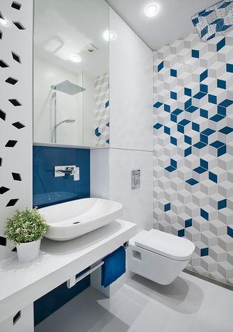 5-10万60平米一室两厅工业风风格卫生间装修图片大全