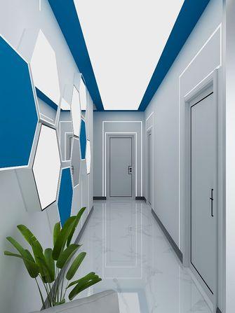 富裕型130平米公装风格走廊装修案例