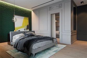 富裕型120平米三室两厅混搭风格卧室欣赏图