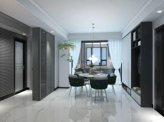80平米公寓轻奢风格餐厅装修案例