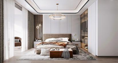 140平米复式轻奢风格卧室欣赏图