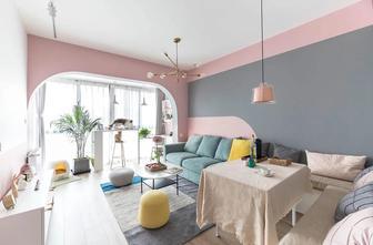3-5万公寓北欧风格客厅图片