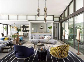 经济型90平米法式风格客厅图