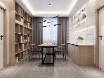 经济型140平米四北欧风格书房设计图