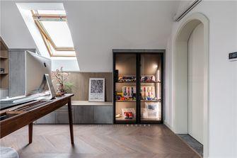 豪华型140平米别墅现代简约风格书房欣赏图