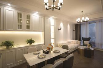 60平米公寓美式风格餐厅装修效果图