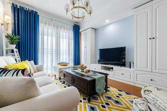 富裕型130平米三室两厅地中海风格客厅装修效果图
