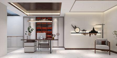 豪华型140平米四室四厅轻奢风格书房图