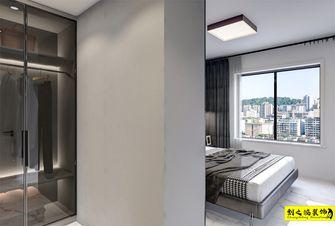 富裕型110平米三室两厅现代简约风格衣帽间装修案例