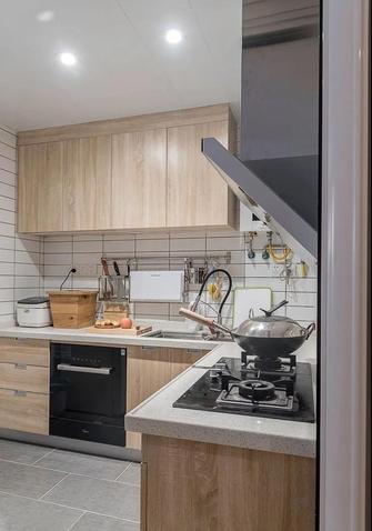 富裕型120平米三室两厅日式风格厨房欣赏图