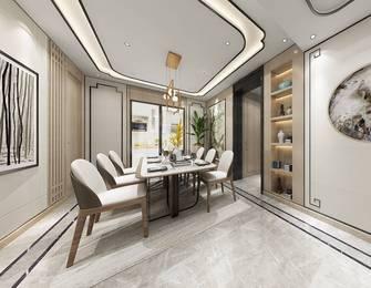 3万以下130平米三中式风格餐厅装修效果图
