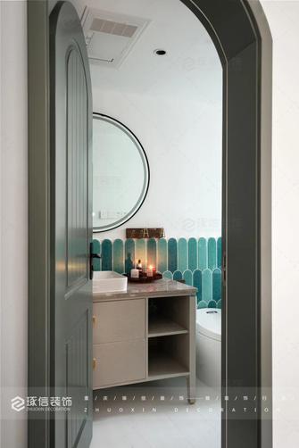 豪华型120平米三室两厅法式风格卫生间设计图