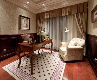 120平米三美式风格客厅图