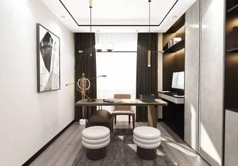 10-15万130平米三室两厅现代简约风格书房效果图