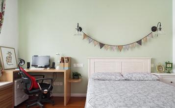 经济型80平米一室两厅北欧风格卧室设计图