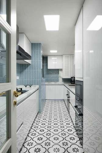 5-10万90平米北欧风格厨房装修图片大全