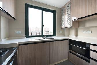 富裕型110平米三室两厅北欧风格厨房图