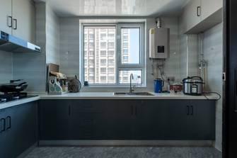 10-15万三室一厅现代简约风格厨房图