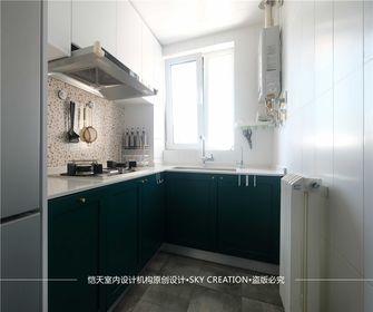 10-15万70平米一居室现代简约风格厨房装修效果图