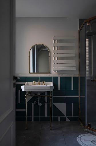 豪华型三室两厅英伦风格卫生间效果图