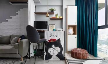 3-5万80平米一室一厅北欧风格阳台装修案例