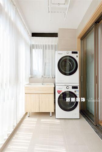 富裕型120平米四室两厅日式风格阳台效果图