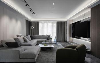 10-15万140平米三室两厅现代简约风格客厅图