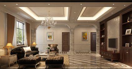 140平米四欧式风格客厅图