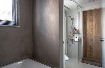 富裕型140平米三室一厅工业风风格卫生间图片大全