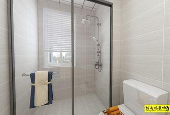 经济型90平米三室两厅欧式风格卫生间效果图