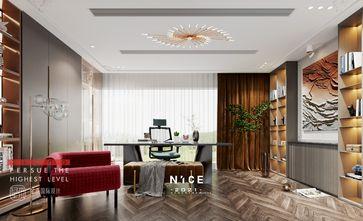 豪华型140平米别墅混搭风格书房装修图片大全