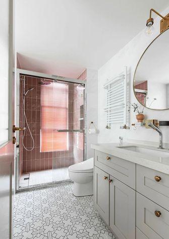 130平米三室一厅北欧风格卫生间装修效果图