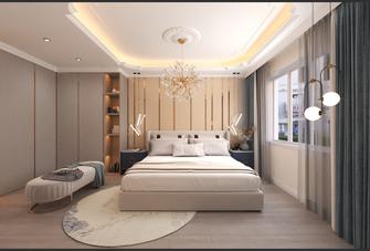 15-20万140平米三室两厅法式风格卧室设计图