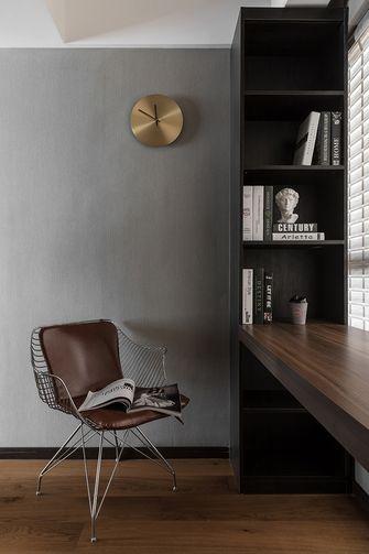 20万以上120平米三室一厅现代简约风格书房图片