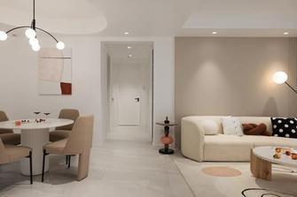 经济型120平米三室两厅现代简约风格走廊装修案例