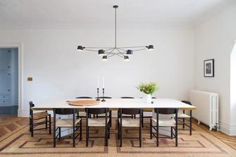 经济型90平米三室一厅地中海风格餐厅效果图