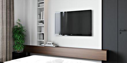 经济型60平米一室两厅现代简约风格卧室装修效果图