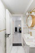 15-20万80平米三室一厅法式风格卫生间装修图片大全