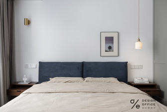富裕型140平米三室两厅法式风格卧室欣赏图