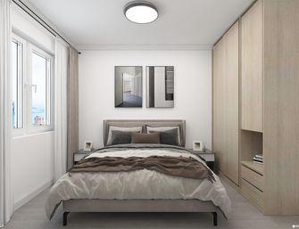 5-10万80平米现代简约风格卧室效果图