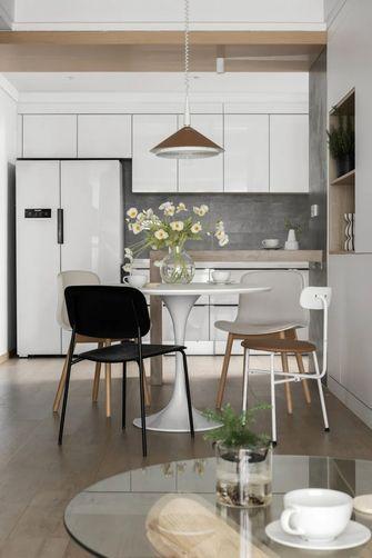 经济型80平米三室两厅日式风格厨房欣赏图