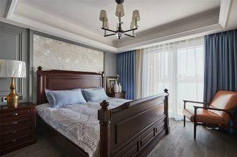 富裕型140平米复式美式风格卧室图