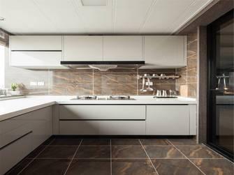 富裕型120平米三室一厅地中海风格厨房装修图片大全