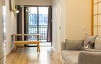10-15万40平米小户型日式风格客厅装修案例