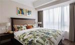 富裕型120平米三美式风格卧室图片大全