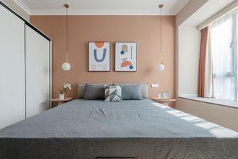 80平米三室两厅田园风格卧室设计图